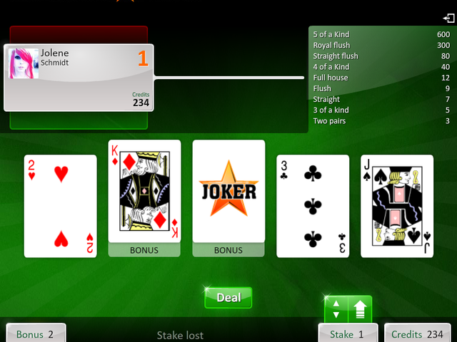 American Poker Screenshot 1