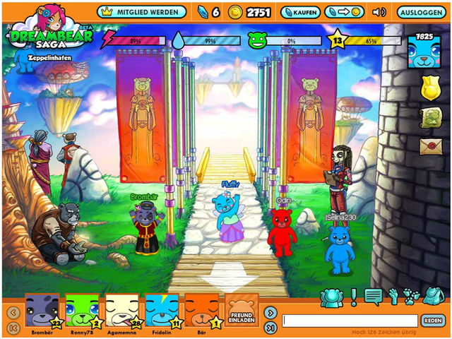 Dreambear Saga Screenshot 1