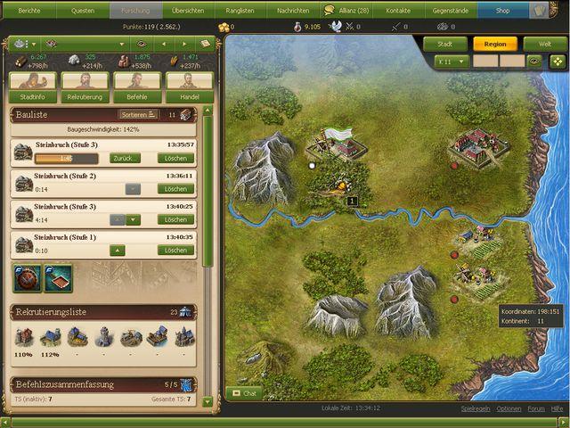 Lord of Ultima Screenshot 1