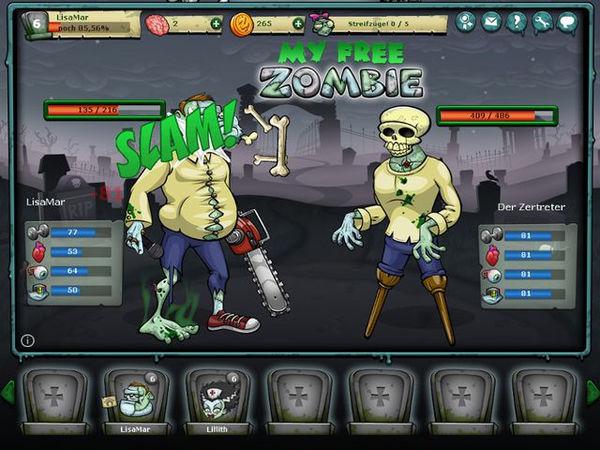 Bild zu Action-Spiel My Free Zombie