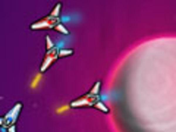 Bild zu Mädchen-Spiel Angriffsflotte