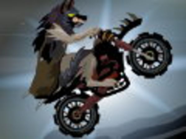 Bild zu Rennen-Spiel Werewolf Rider