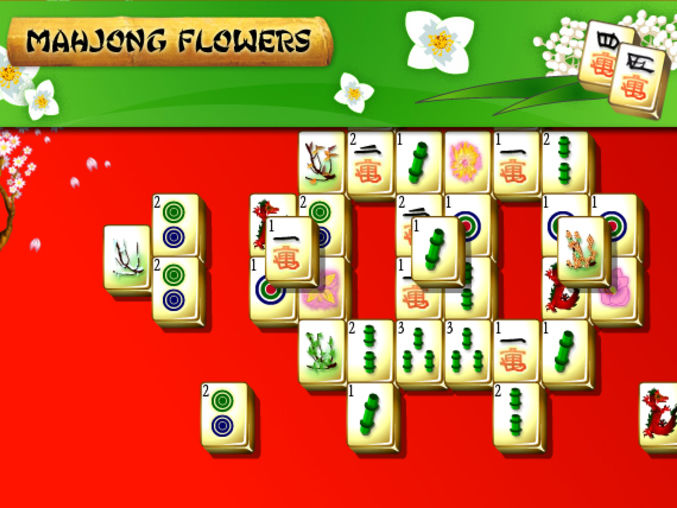 Mahjongg Flowers