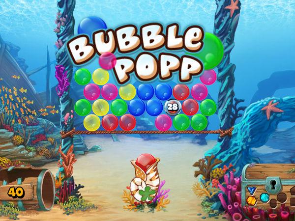 Bild zu Duelle-Spiel Bubble Popp