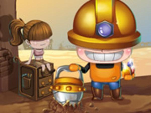 Bild zu Action-Spiel Mining Man