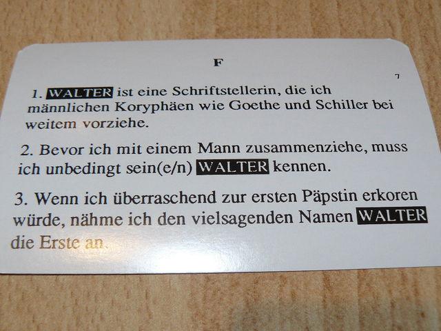 Der wahre Walter Bild 1