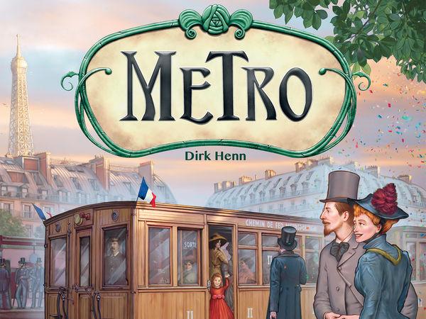 Bild zu Alle Brettspiele-Spiel Metro