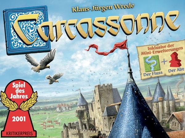 Bild zu Alle Brettspiele-Spiel Carcassonne
