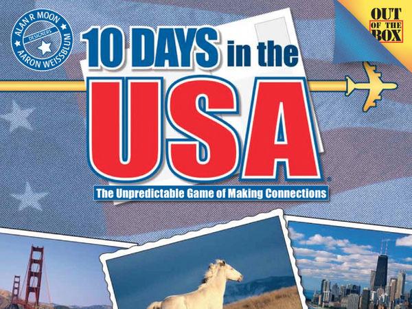 Bild zu Alle Brettspiele-Spiel 10 Days in the USA