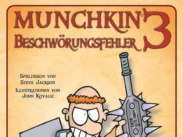 Bild zu Alle Brettspiele-Spiel Munchkin 3: Beschwörungsfehler