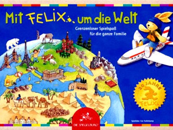 Bild zu Alle Brettspiele-Spiel Mit Felix um die Welt