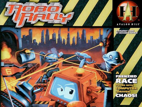 Bild zu Alle Brettspiele-Spiel Robo Rally