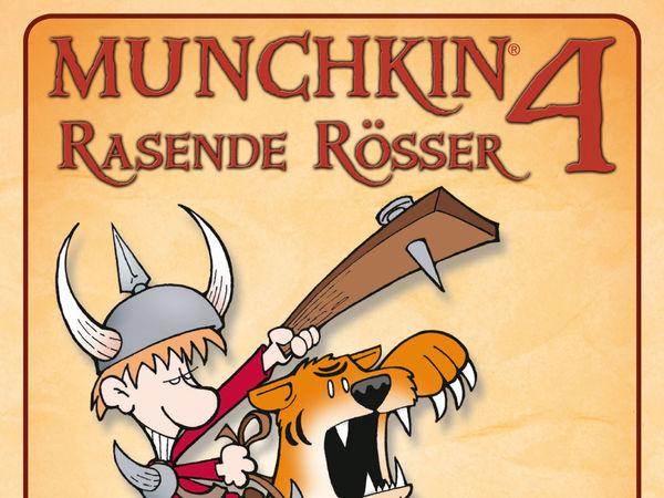 Bild zu Alle Brettspiele-Spiel Munchkin 4: Rasende Rösser