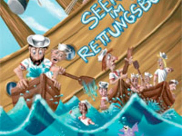 Bild zu Alle Brettspiele-Spiel Seenot im Rettungsboot