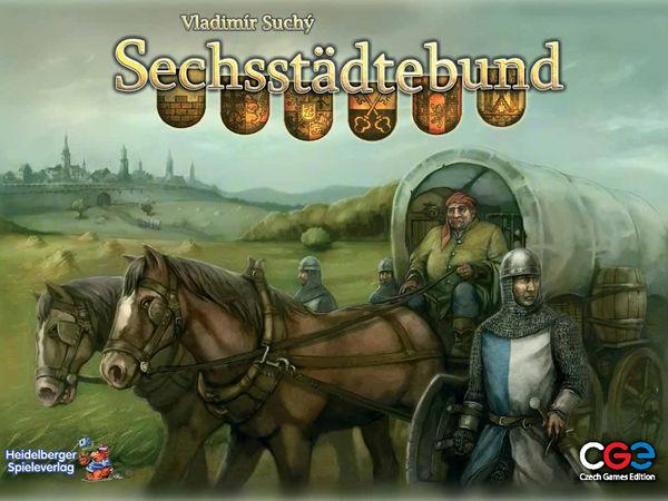 Bild zu Alle Brettspiele-Spiel Sechsstädtebund