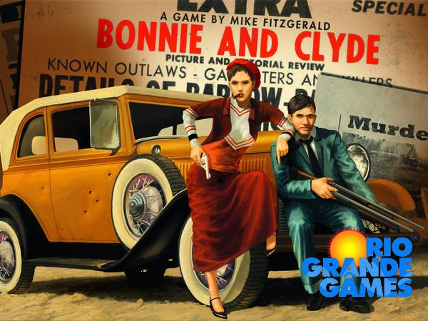 Bild zu Alle Brettspiele-Spiel Bonnie and Clyde