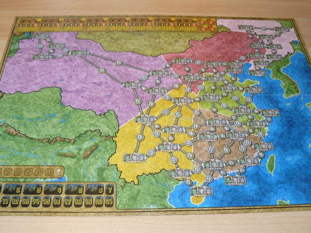 Funkenschlag - Erweiterung China/Korea Bild 1