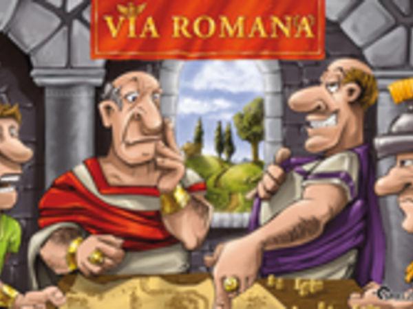 Bild zu Alle Brettspiele-Spiel Via Romana