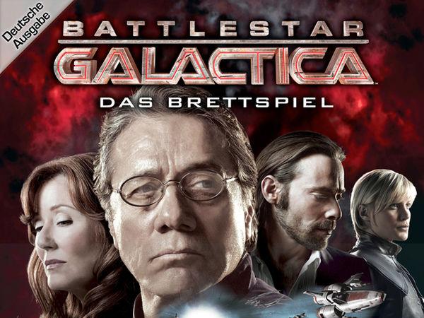 Bild zu Alle Brettspiele-Spiel Battlestar Galactica: Das Brettspiel