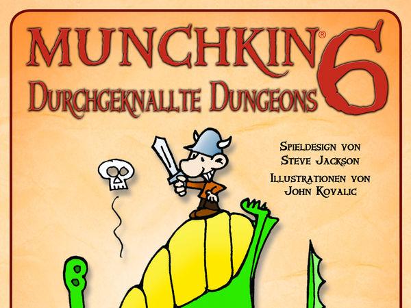Bild zu Alle Brettspiele-Spiel Munchkin 6: Durchgeknallte Dungeons