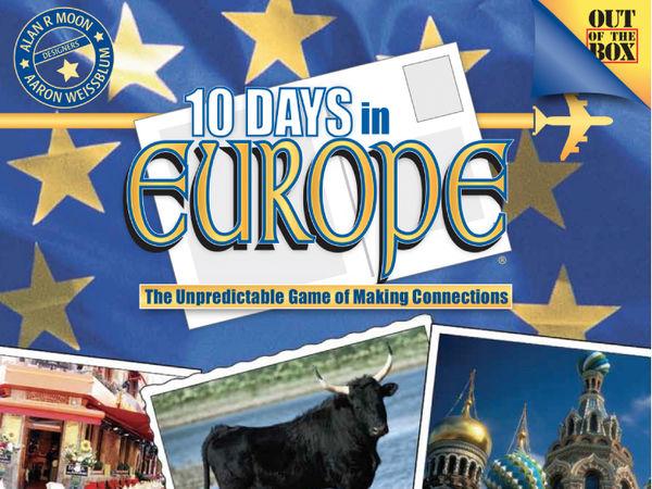 Bild zu Alle Brettspiele-Spiel 10 Days in Europe