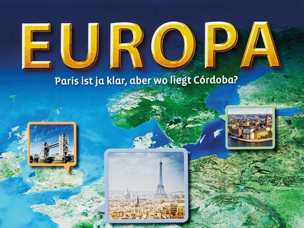 Bild zu Alle Brettspiele-Spiel Europa: Paris ist ja klar, aber wo liegt Córdoba?
