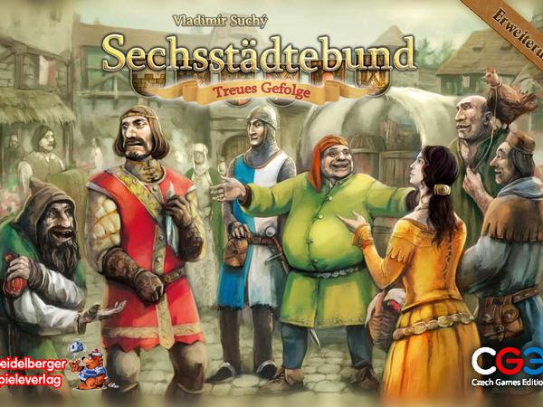 Bild zu Alle Brettspiele-Spiel Sechsstädtebund: Treues Gefolge
