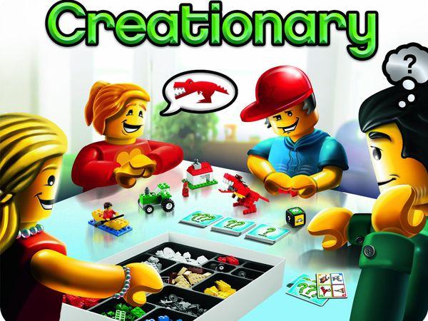 Bild zu Alle Brettspiele-Spiel Creationary