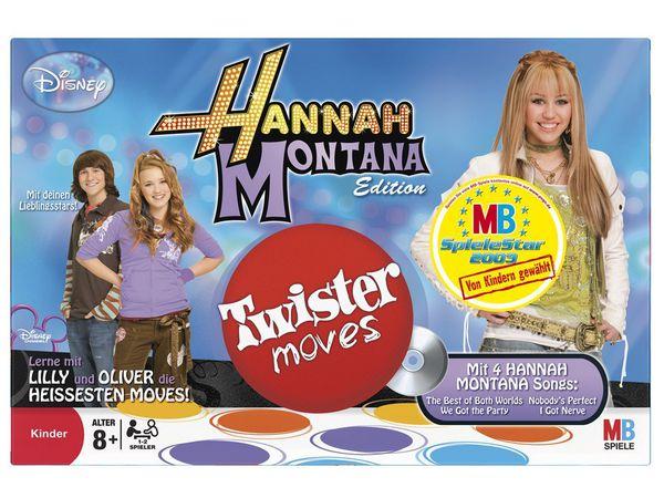 Bild zu Alle Brettspiele-Spiel Hannah Montana: Twister Moves