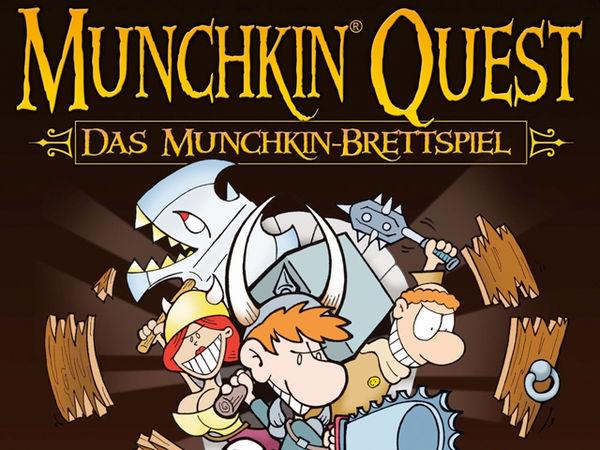 Bild zu Alle Brettspiele-Spiel Munchkin Quest: Das Brettspiel