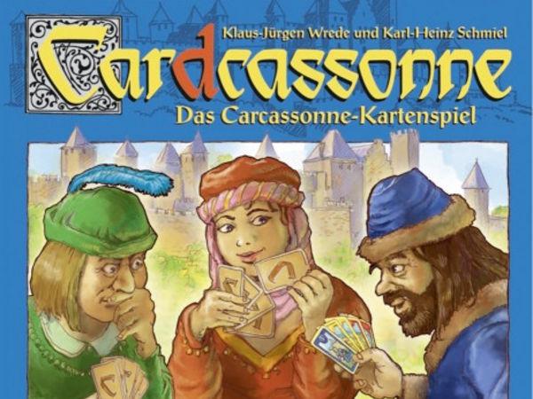 Bild zu Alle Brettspiele-Spiel Cardcassonne