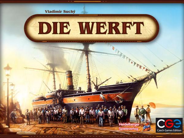 Bild zu Alle Brettspiele-Spiel Die Werft