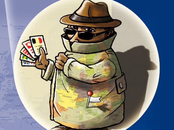 Bild zu Alle Brettspiele-Spiel Undercover in Europa