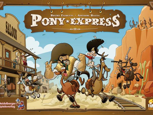 Bild zu Alle Brettspiele-Spiel Pony Express