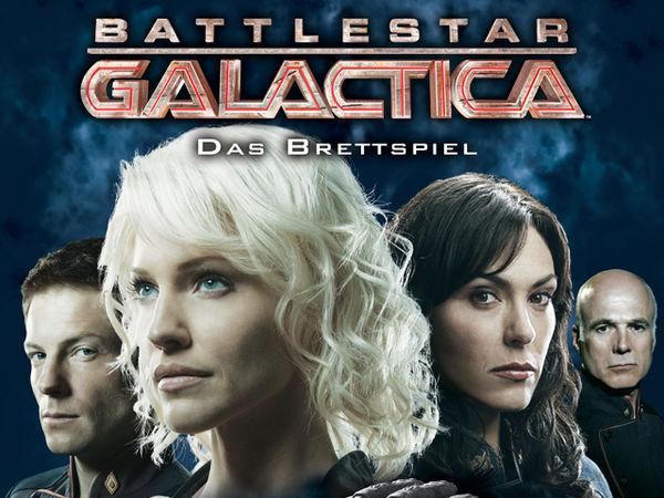 Bild zu Alle Brettspiele-Spiel Battlestar Galactica: Pegasus Erweiterung