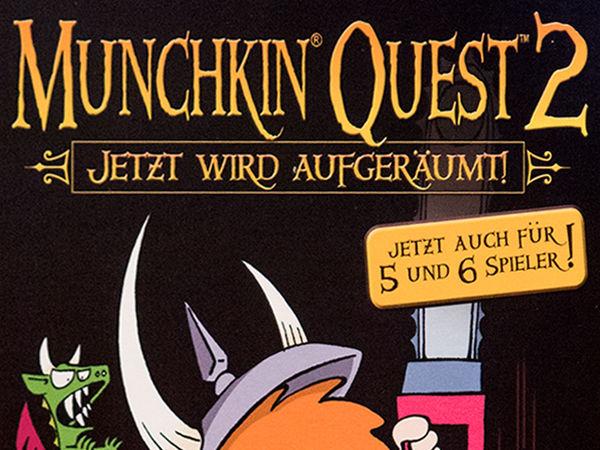 Bild zu Alle Brettspiele-Spiel Munchkin Quest 2: Jetzt wird aufgeräumt!