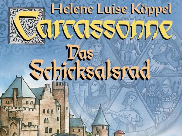 Bild zu Alle Brettspiele-Spiel Carcassonne: Das Schicksalsrad