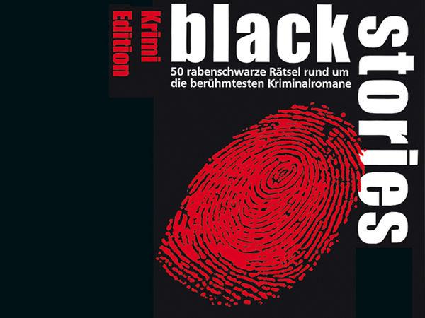 Bild zu Alle Brettspiele-Spiel Black Stories: Krimi Edition