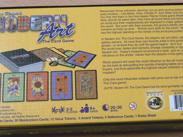 Modern Art: The Card Game Bild 1