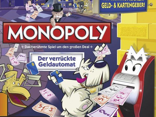 Bild zu Alle Brettspiele-Spiel Monopoly: Der verrückte Geldautomat