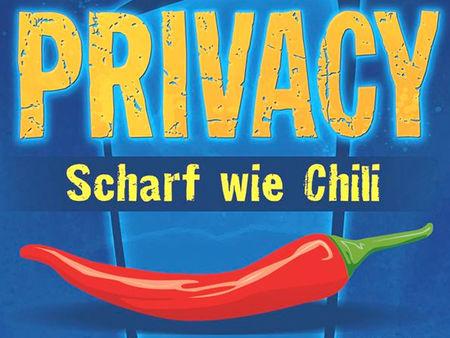 Privacy: Scharf wie Chili
