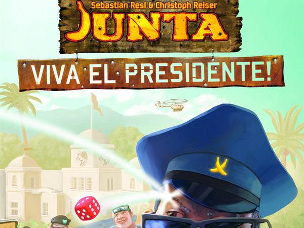 Bild zu Alle Brettspiele-Spiel Junta: Viva el Presidente