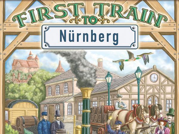 Bild zu Alle Brettspiele-Spiel First Train to Nürnberg