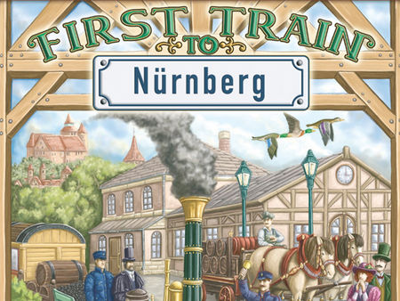 First Train to Nürnberg