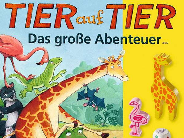 Bild zu Alle Brettspiele-Spiel Tier auf Tier: Das große Abenteuer