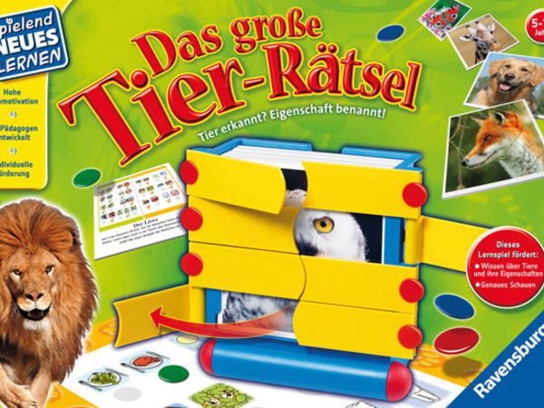 Bild zu Alle Brettspiele-Spiel Das große Tier-Rätsel