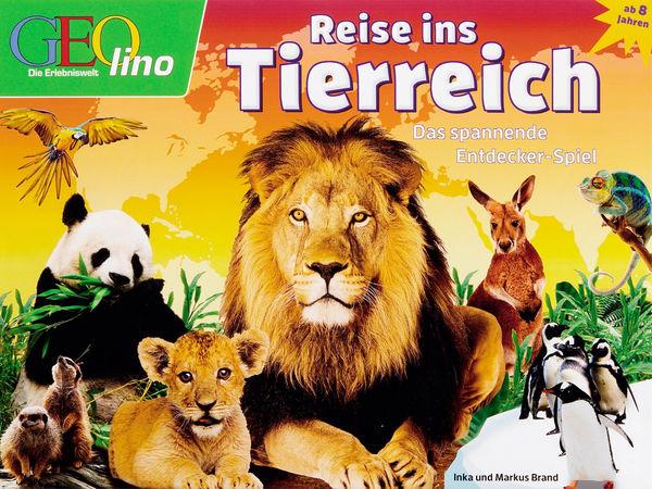 Bild zu Alle Brettspiele-Spiel Geolino - Reise ins Tierreich