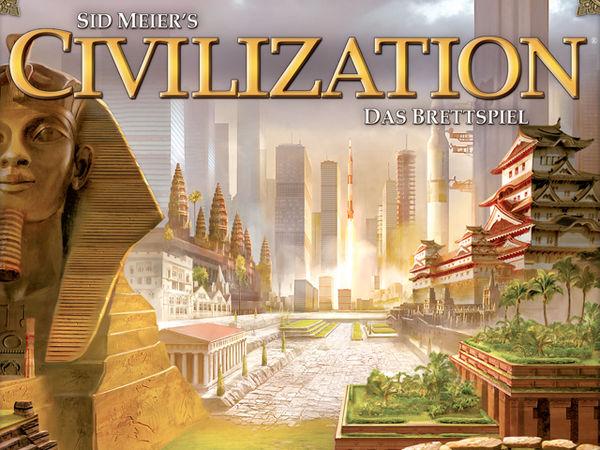 Bild zu Alle Brettspiele-Spiel Civilization - Das Brettspiel