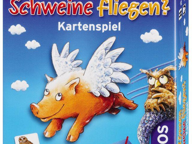 Können Schweine fliegen? Kartenspiel Bild 1