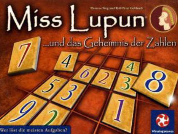 Bild zu Alle Brettspiele-Spiel Miss Lupun und das Geheimnis der Zahlen